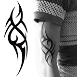 3D New Man's Half Sleeve Arm Temporary Totem Tattoo Stickers Body Art (Totem)