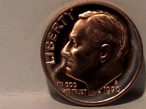 (1970-S Proof Roosevelt Dime)
