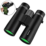10×42 Binoculars,Szeshineco Ultra HD Binoculars for Adults,Floating Waterproof Fogproof, BAK4 Roof Prism, Lightweight and Compact for Bird Watching,Hunting,Hiking,Boating,Travel,Astronomy Beginner Review