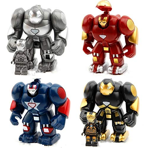 - The Incredibles Superhero Action Figures Mini Building Block Iron Buster Man War Robots Figures Infinity Set Boys Anime Action Minifigures Toy's 8 Pieces Popular Movie Action Figures Kid's