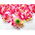 100-silk-cream-pink-roses-flower-head-175-artificial-flowers-heads-fabric-floral-supplies-wholesale-lot-for-wedding-flowers-accessories-make-bridal-hair-clips-headbands-dress