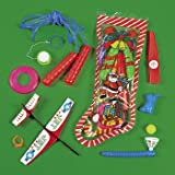 TOY FILLED CHRISTMAS STOCKINGS (1 DOZEN) - BULK