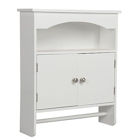 Amazon Go2buy Bathroom Wall Cabinet Wood Medicine Storage