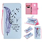 NEXCURIO Samsung Galaxy A8 (2018) / A530 Wallet Case with Card Holder Folding Kickstand Leather Case Flip Cover for Samsung Galaxy A8 (2018) - NEKTU11071#4