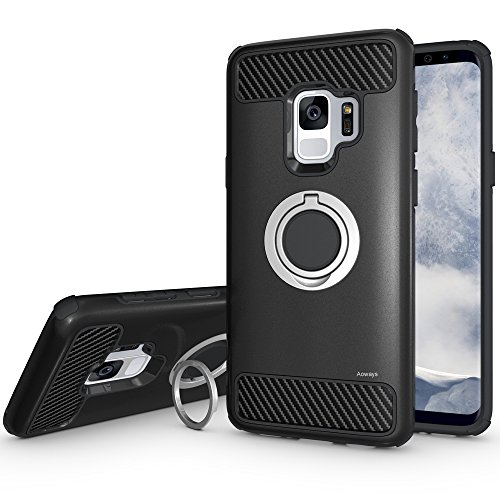 Galaxy S9 Case, Aoways Armor Dual Layer Case with...