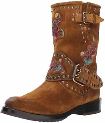 FRYE Women's Nat Flower Engineer Boot