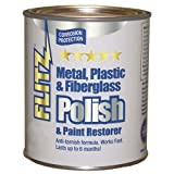 Flitz CA 03588 Metal, Plastic and Fiberglass Polish with Paint Restorer, 1-Gallon, Small