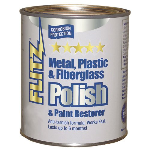 Flitz CA 03588 Metal, Plastic and Fiberglass Polish with Paint Restorer, 1-Gallon, Small by Flitz