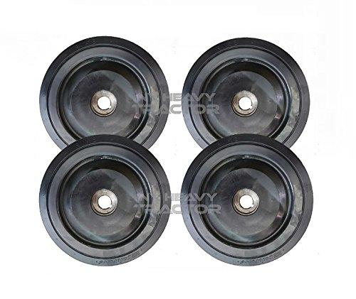 Asv 10'' Wheel Gp Bogie Middle X4 Fits Asv Sr80 Rubber Track 2035-179 2035179