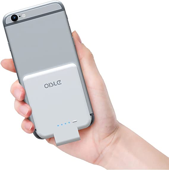 oisle Portable Charger Mini Power Bank PowerCore 2200mAh Wireless External Backup Battery Pack High Speed Ultra Thin Charging Compatible with iPhone