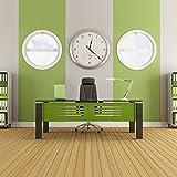 High Torque Quartz Clock Movement Clock Replacement Mechanism with 12 Inch Long Spade Hands for DIY Clock