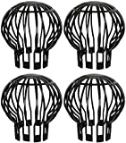 Massca Down Pipe Gutter Balloon Guard Filter. Stops Blockage Leaves and Debris. Filter Allows the Water to Make it Through and into the Downspout. Pack of 4