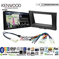Volunteer Audio Kenwood Excelon DNX994S Double Din Radio Install Kit with GPS Navigation Apple CarPlay Android Auto Fits 2014-2017 Non Amplified Toyota Tundra