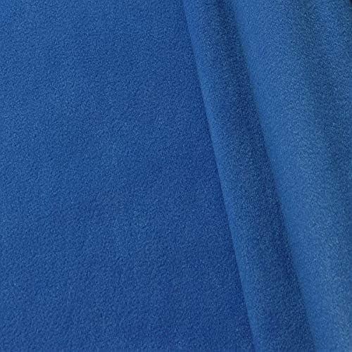 Softfleece uni dunkelblau 50 x 150 cm Fleece