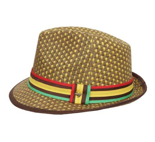 Peter Grimm Headwear Men's JAH Love Trilby Hat by Peter Grimm (Image #1)