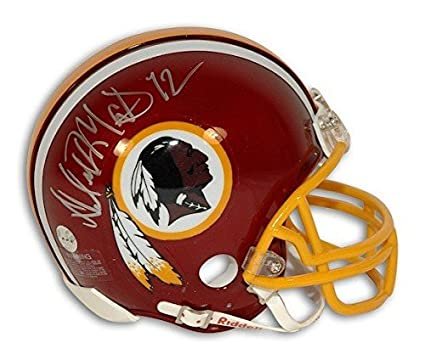 Image Unavailable. Image not available for. Color  Autographed Dexter  Manley Washington Redskins Riddell Replica Mini Helmet ... 4f6deae40