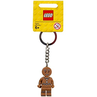 LEGO Gingerbread Man Keychain: Toys & Games