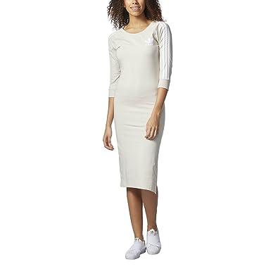 76d19fbc95 WOMEN ADIDAS ORIGINALS THREE STRIPES DRESS (M) at Amazon Women s Clothing  store