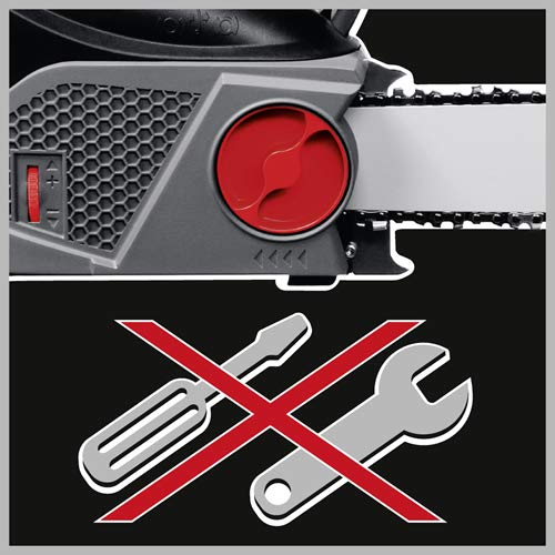 Tonino Lamborghini 23514050-LNK KS 6024 2400 W, Cadena, fabricada en Alemania, 2400 W, 230 V, gris//negro//rojo. Motosierra el/éctrica