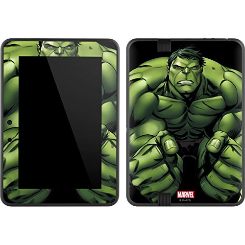 Marvel Hulk Kindle Fire HD 7 Skin - Hulk is Angry Vinyl Decal Skin For Your Kindle Fire HD 7