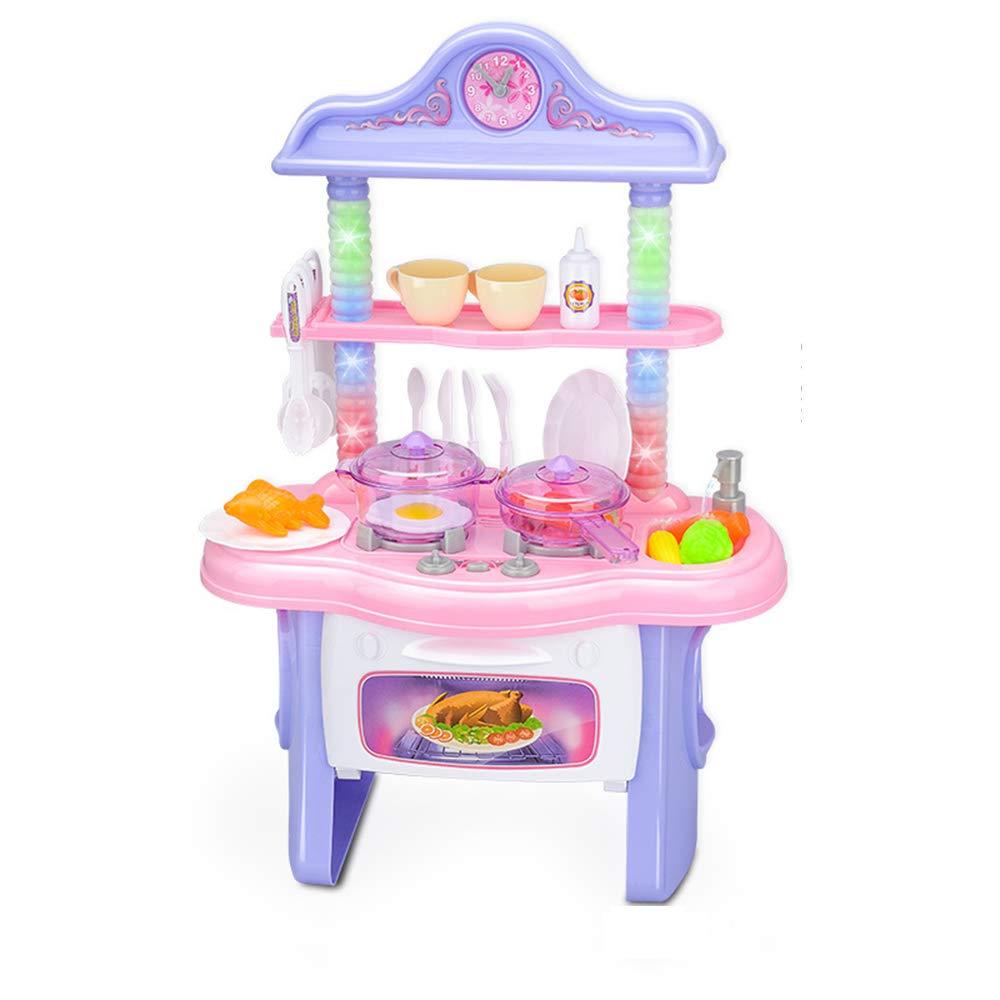 Xyanzi Juguetes para Bebés Juguete para cocinar, juego de cocina, juego para cocinar para niños pequeños, juegos de cocina, utensilios de cocina, juegos de cocina para niños Juego de imaginación con e