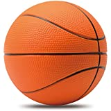 Mini Basketball, Chastep,6 Inch Foam Ball. Soft and Bouncy, Non-Toxic, Safe to Play