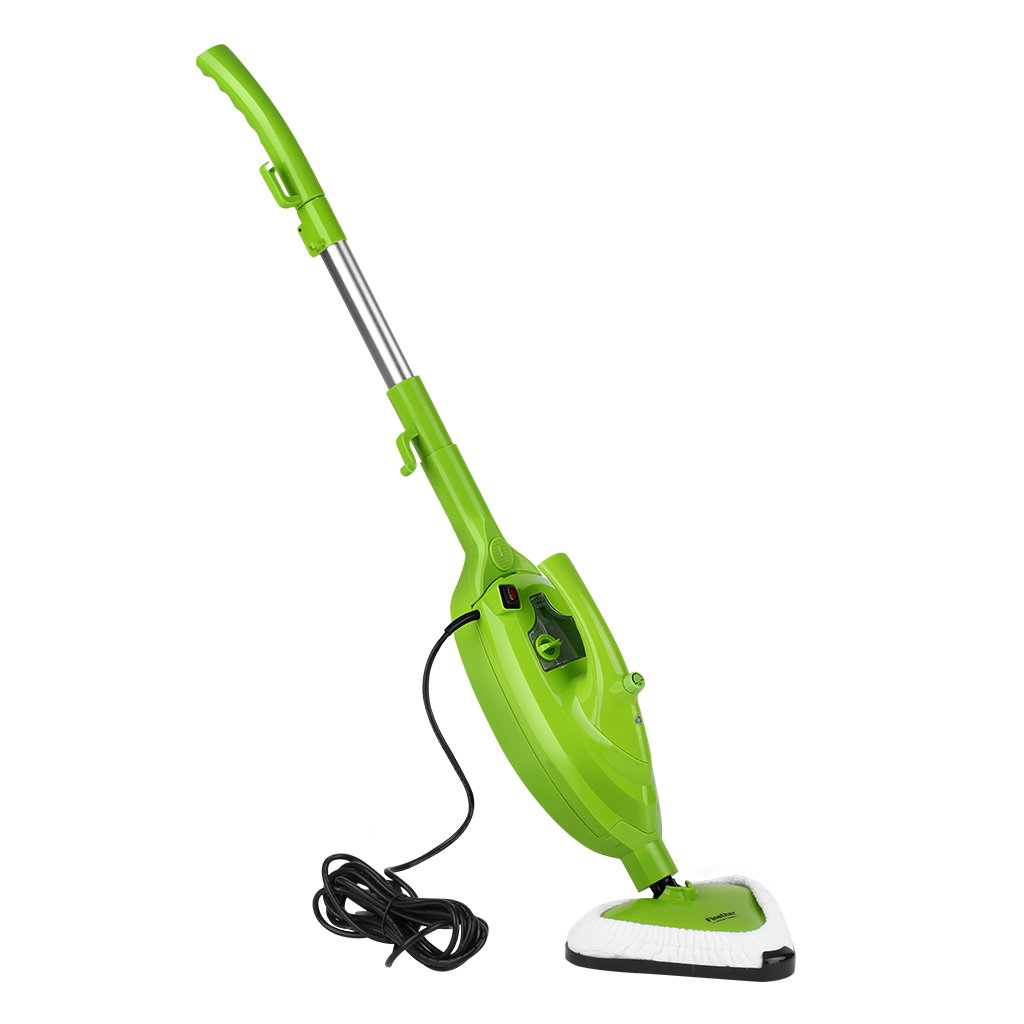 Steam Mop Cleaner, 1500w 10 in 1 Floor Handheld Steam Cleaner carpet Steam Cleaner Floor Steamer with 14 Accessories for Cleaning Tile Laminate Marble Sealed Hardwood Floors Carpet Furniture Fabrics