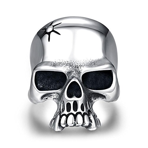 [Fashion Men Charms Jewelry Antique Silver Plating Punk Human Skeleton Rings] (Lord Of The Rings Costumes Aragorn)