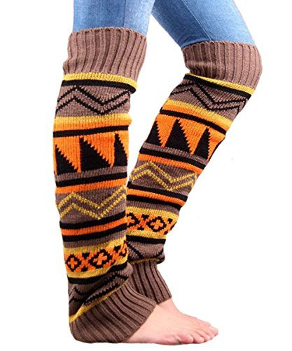 Womens Knit Leg Warmers