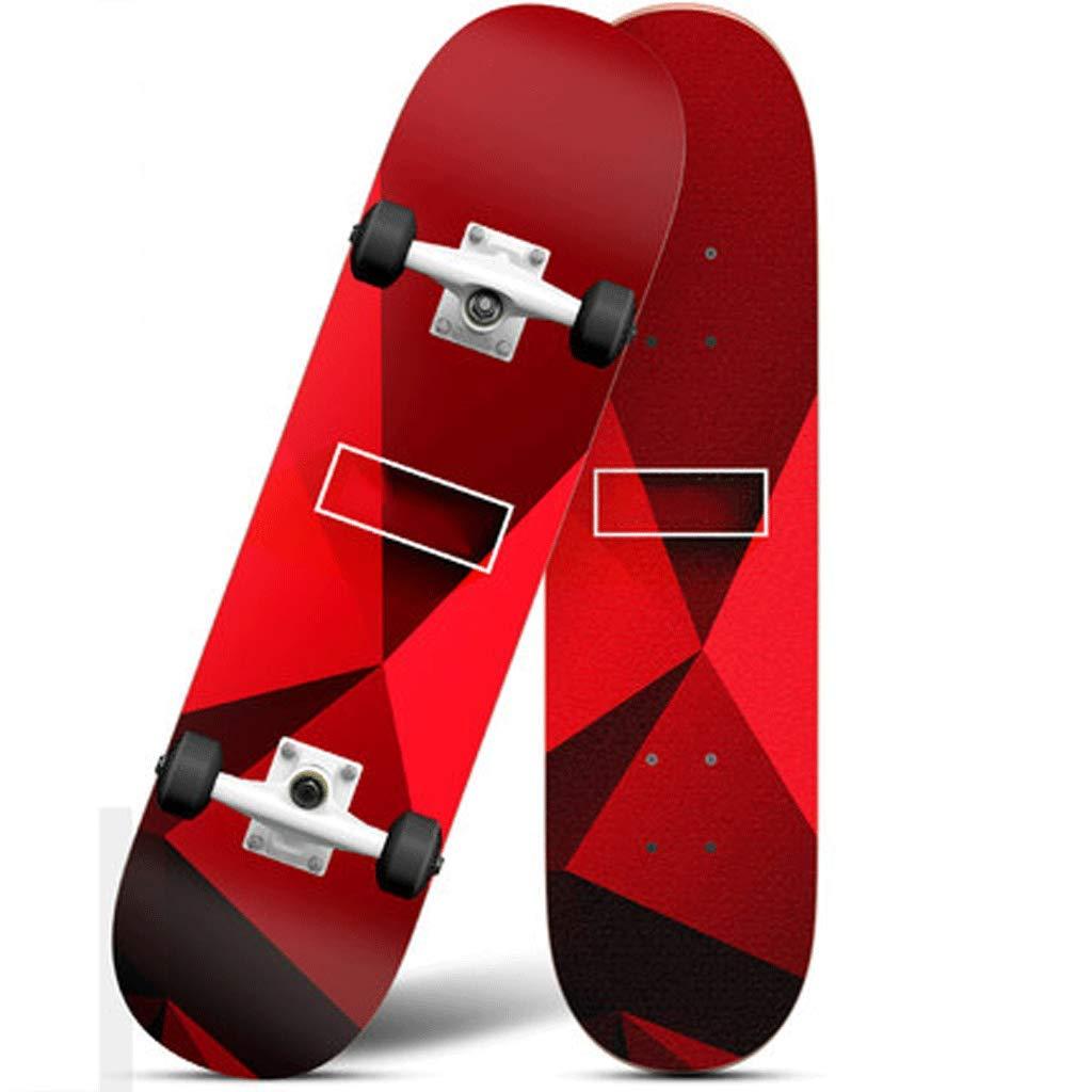 大人気新品 四輪のスケートボードの子供のティーン初心者ストリートプロフェッショナル男性の大人の女の子の二方向チルトロードスケートボード Red (色 : : 黒, wheel サイズ さいず : Illuminated wheel) B07L4MBK3M Illuminated wheel|Red Red Illuminated wheel, オートリメッサ:c407b420 --- a0267596.xsph.ru