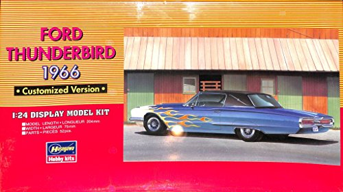 Hasegawa 1:24 Ford Thunderbird 1966 Cust - Ford Thunderbird Model Kit Shopping Results