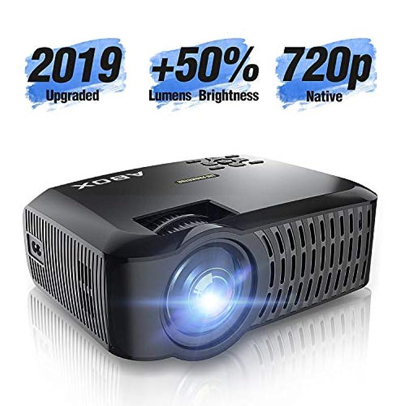 ABOX 프로젝터 3000lm 소형 1080p 풀 HD
