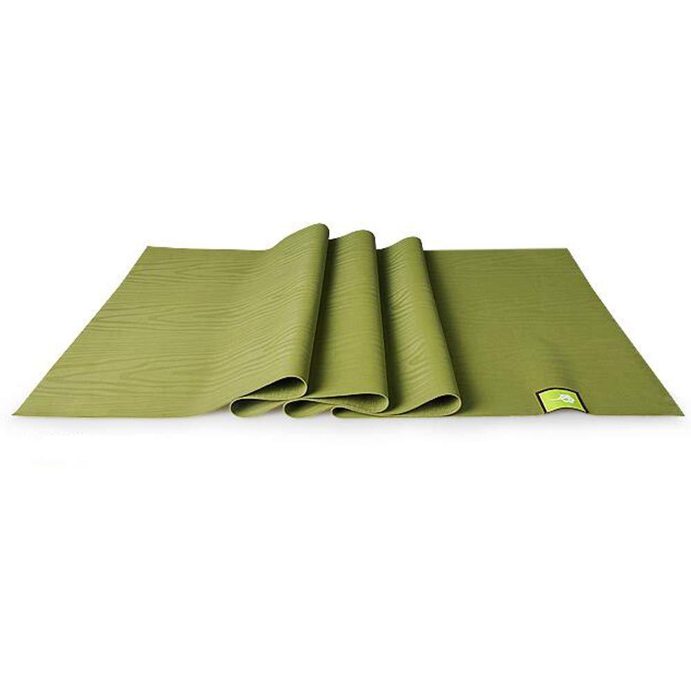 Gkingif Yoga Tragbare Falten Yoga-Matte Rutschfeste Gummi Fitness Matte Yoga Handtuch Umweltschutz Ultra-dünn, 183 cm  66 cm  0,15 cm