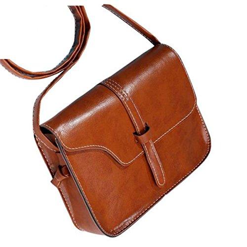 Cross Bag Fashion Body Bag Women Shoulder Yuan Brown Shoulder Handbag Messenger Bag Girls Bags Leather Purse q68zxp1w