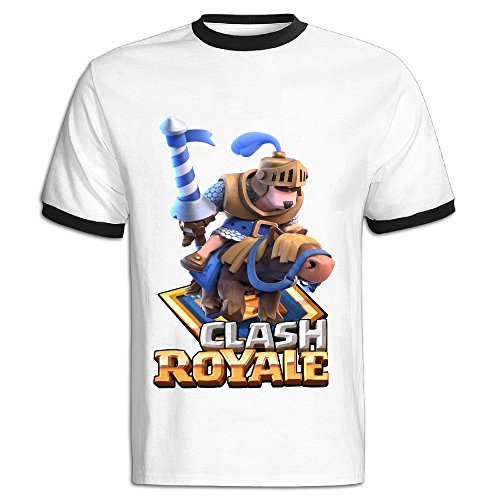 Lukeya Clash Royale Large Men T Shirt