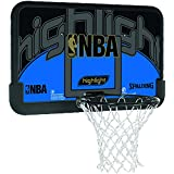 Spalding NBA Highlight / 3001673011144 Panier de basket Noir/bleu