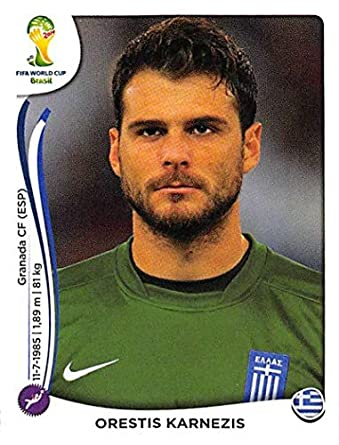 Amazon.com  2014 Panini World Cup Stickers Brazil  205 Orestis ... 91bb970bb