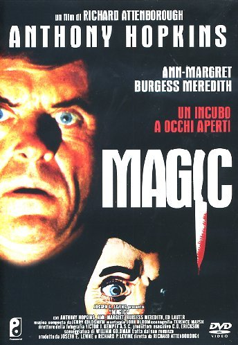 Magic [Italia] [DVD]: Amazon.es: Jerry Goldsmith, Anthony Hopkins, Ed Lauter, Ann Margret, Burgess Meredith, Richard Attenborough: Cine y Series TV