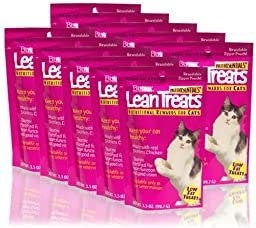 Butler Lean Treats for Cats 10 Pack/3.5 oz Resealable Pouches)