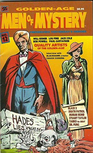 Golden-Age Men of Mystery #12 FN ; Paragon comic book for sale  Delivered anywhere in USA