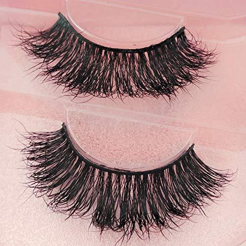 JYEMDV Stereo Stage False Eyelashes Natural Hand-made Thick Leeches False Lashes Fashion Beauty Makeup 2 Pairs (Size : #801)