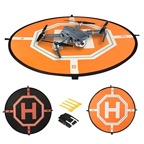 Comecase 31 inches Professional Drone Landing Pad for RC Drones Helicopter...
