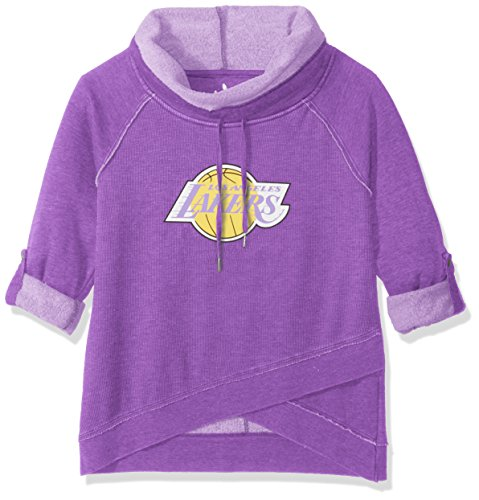 Touch by Alyssa Milano NBA Los Angeles Lakers Wildcard Top, Small, Purple ()