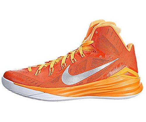 Nike Mens Hyperdunk 2014 Tb Scarpe Da Basket Arancione Fiamma / Argento Metallico / Citris Luminoso 653483-808 (7,5 D (m) Us)