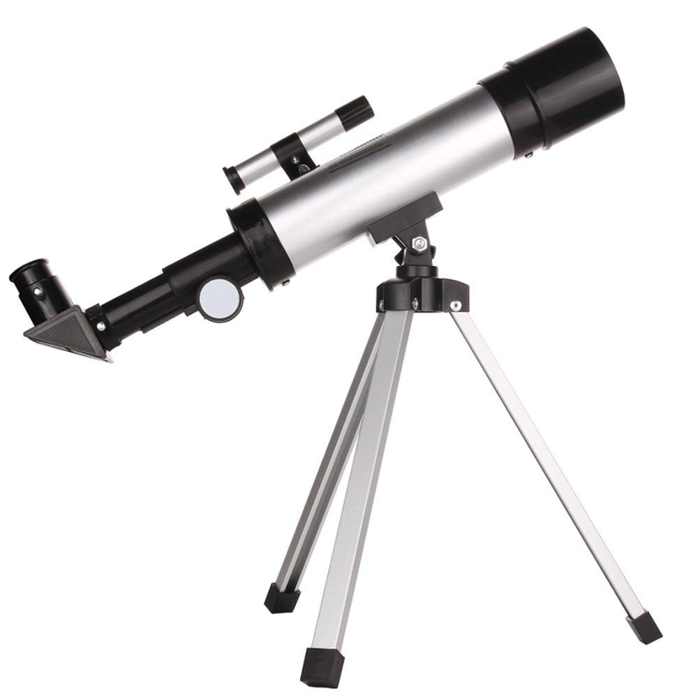 HD Astronomical Telescope, Triangle Bracket, Multiple eyepieces, Double-Lens Telescope, Open disassembly, Entry-Level Astronomical Telescope by Monocular