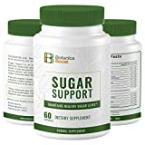 Botanica Boost 450mg Blood Sugar Support Supplement, 100% Natural Blend of 17 Herbs for Healthy Pancreas Function (180 Capsules)