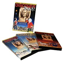 DISCOVER BACH: 3-Disc Box Set: DVD Video / CD-ROM Game / Audio CD