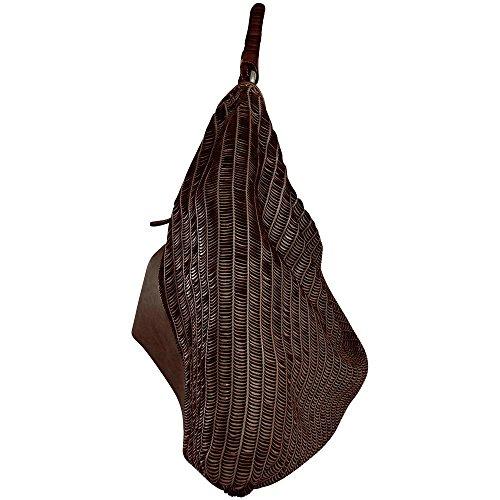 à femme à Sac l'épaule porter Mahagony House Brown Reptile's pour xqBCnIBt