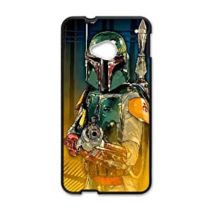 Boba Fett Digital Art Protective Case For HTC One M7 Cell Phone Case Black