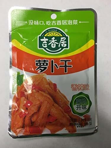 Ji Xiang Ju Turnip Fragrant Flavor | Luo Bo Gan Xiang La Wei 80g (Pack of 4) …